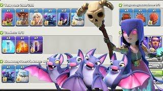 Neue Angriffsstrategie ist zu stark | Hexen + Fledermaus = 3 Sterne | Clash of Clans deutsch
