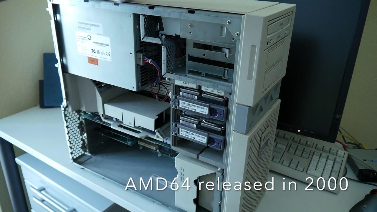 Sun UltraSPARC 30, Creator 3D 1997 high end workstation & T2 Linux install