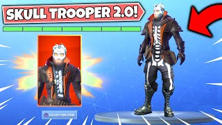 NEW SKULL TROOPER 2.0 SKIN REVEALED in Fortnite!