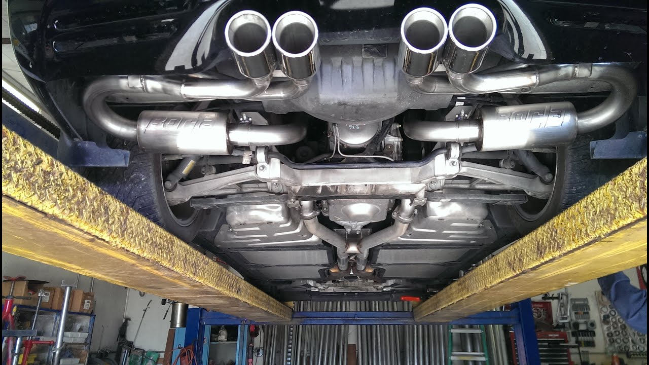 Mufflers For Less >> Corvette Exhaust Project Borla C5 - YouTube
