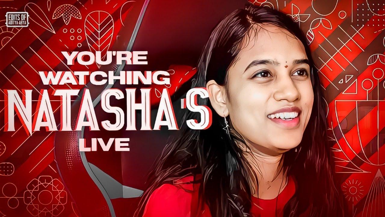 RP GIVEAWAY AT 160K!!! Natasha Gaming PUBG Live
