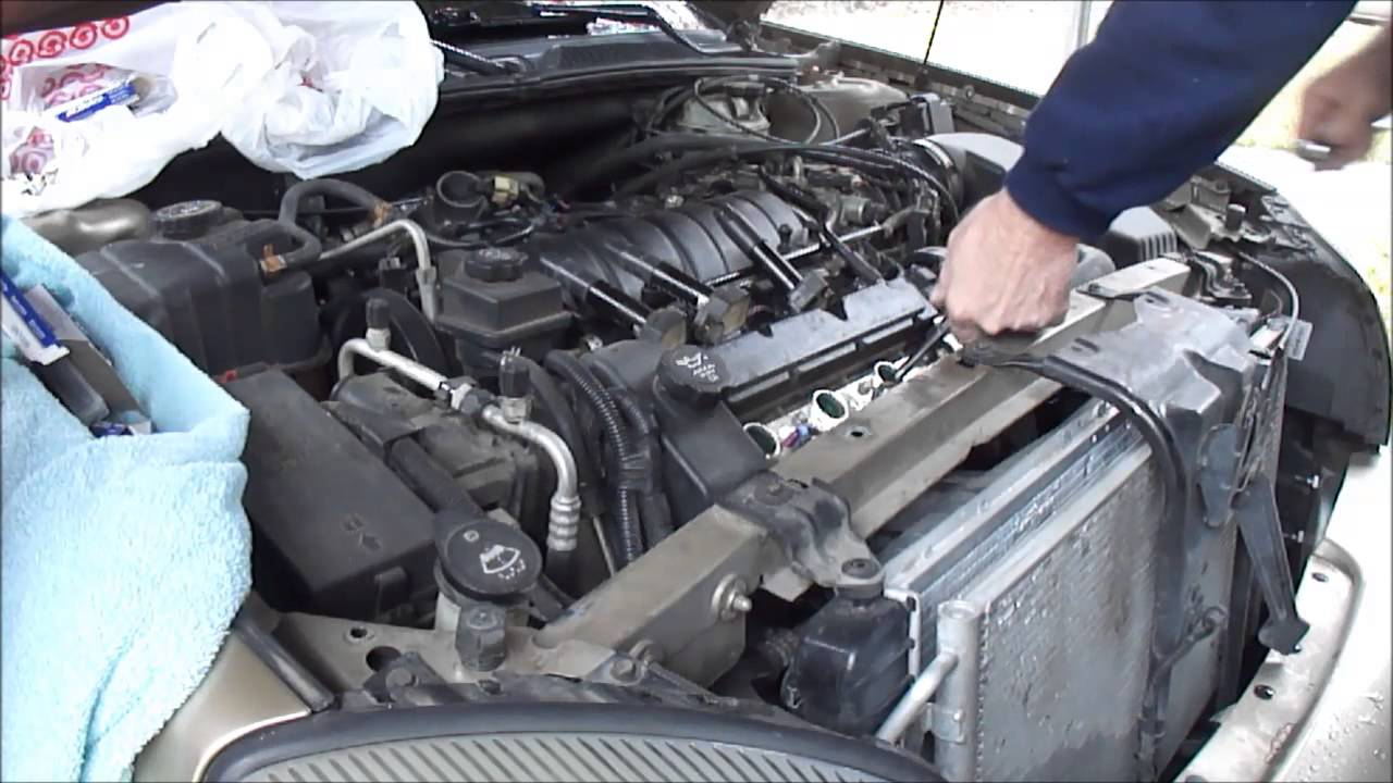 2005 cadillac deville v-8 northstar replace spark plugs