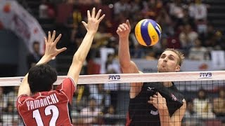 FIVB World Cup 2015 - Japan vs Canada Men's Volleyball Highlights
