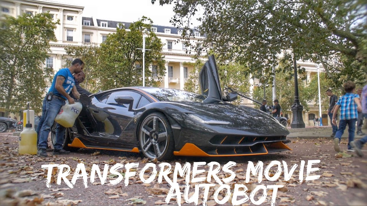 2 5 Million Transformers 5 Lamborghini Centenario Mclaren 570gt