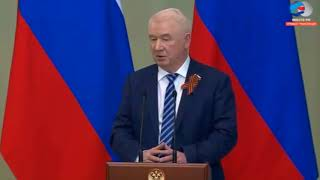 Смелое выступление депутата перед Путиным приостановило спад...