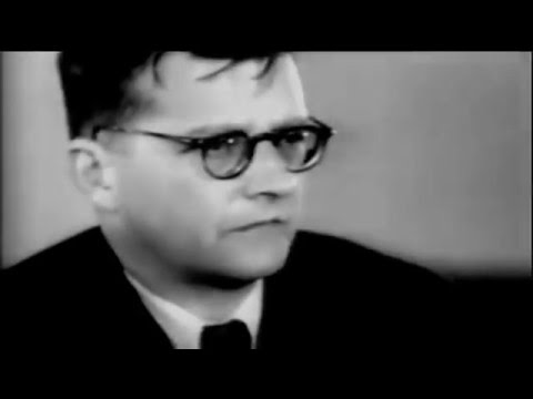 Dmitri Shostakovich filmed: a compilation of historic footages
