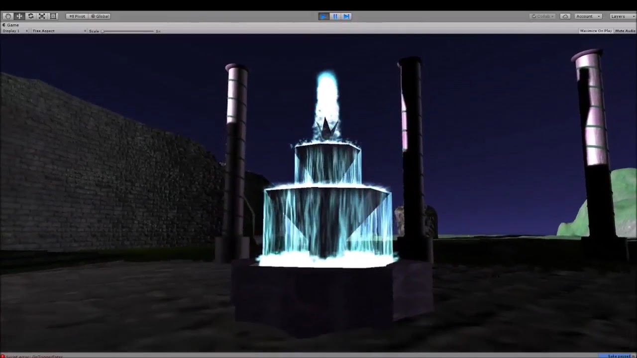 Fountain - Updated Textures