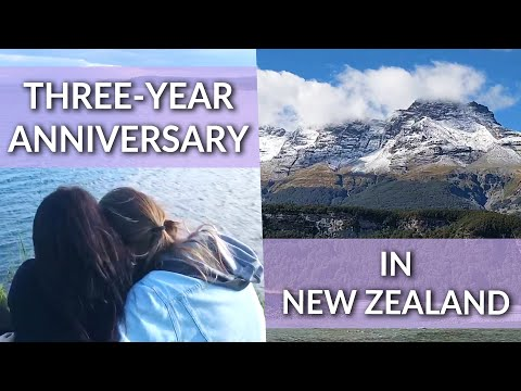 Super Gay Anniversary Trip in New Zealand 👭 | Riley and Fiona