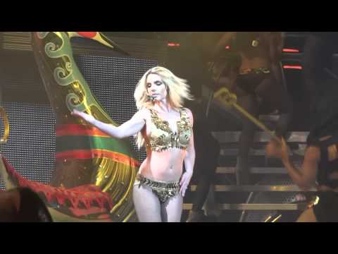 Britney Spears Gimme More Live Montreal 2011 Femme Fatale Tour 11-08-2011