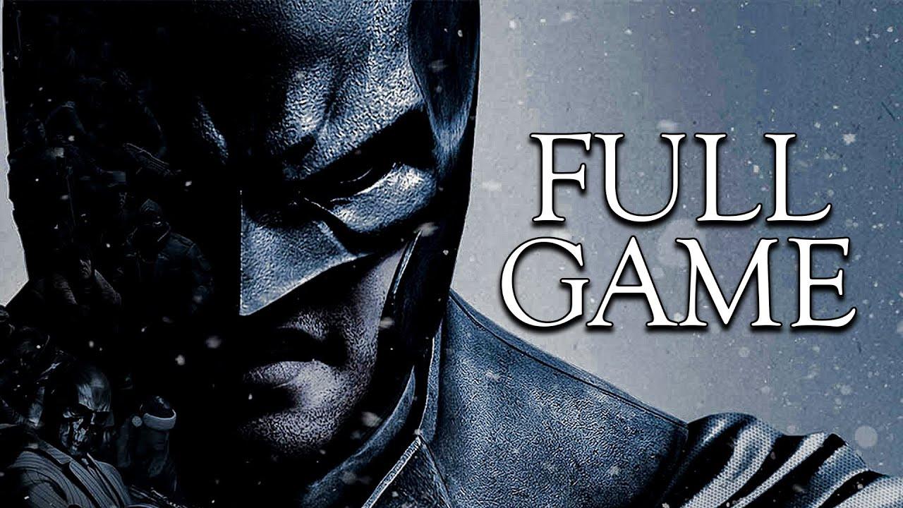 Batman: Arkham Origins Full Game Walkthrough   Longplay ...