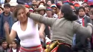 Ожесточённые драки: перуанский ритуал очищения (новости)