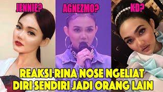Download REAKSI SUAMI RINA NOSE MELIHAT ISTRINYA JADI ARTIS LAIN