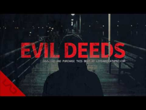 Evil Deeds - Dark Eminem D12 Type Anthem Rap Beat Instrumental