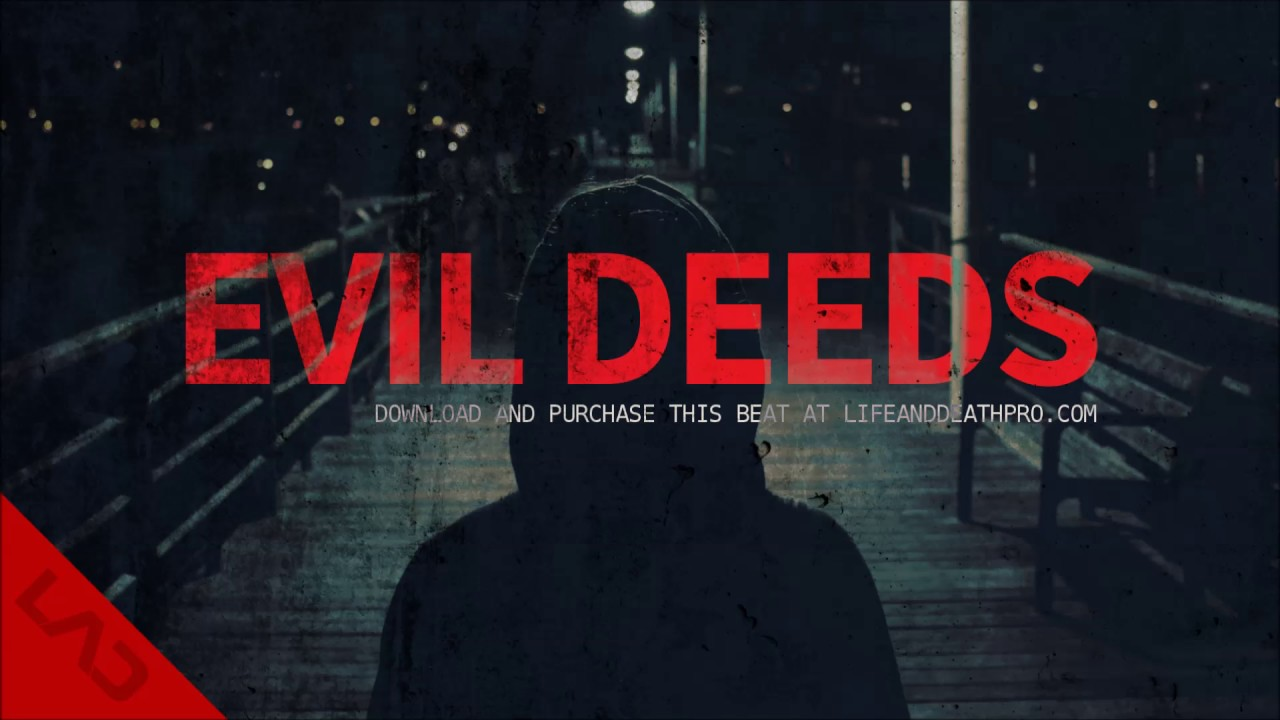 Evil deeds dark eminem d12 type anthem rap beat instrumental.