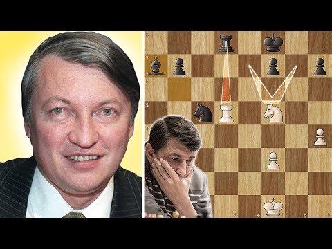Biggest Blunder in Chess History - Karpov vs Bareev - Linares (1994)