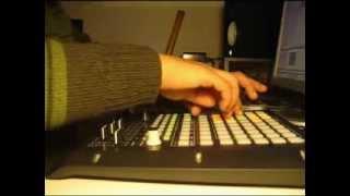 ADREIM999 breakcore minilive - Akai APC20