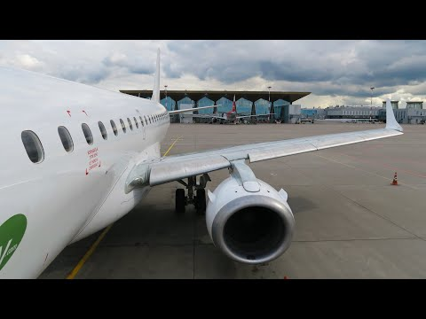 Embraer 190 а/к Pegas Fly | Рейс Санкт-Петербург - Саратов