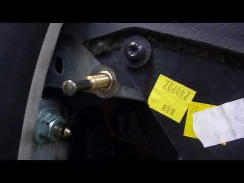 Концевики дверей встроенные в замки. Решение проблемы.