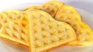 Бельгийские Вафли кулинарный видео рецепт(Бельгийские вафли более толстые и маленькие, чем традиционные для нас вафли. Чтобы их испечь, понадобится..., 2014-04-04T12:12:49.000Z)