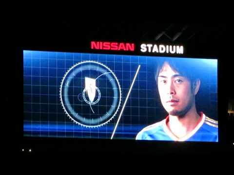 【2015 Aprli】 Yokohama F. Marinos VS Sanfrecce Hiroshima-Starting lineup+Opening movie