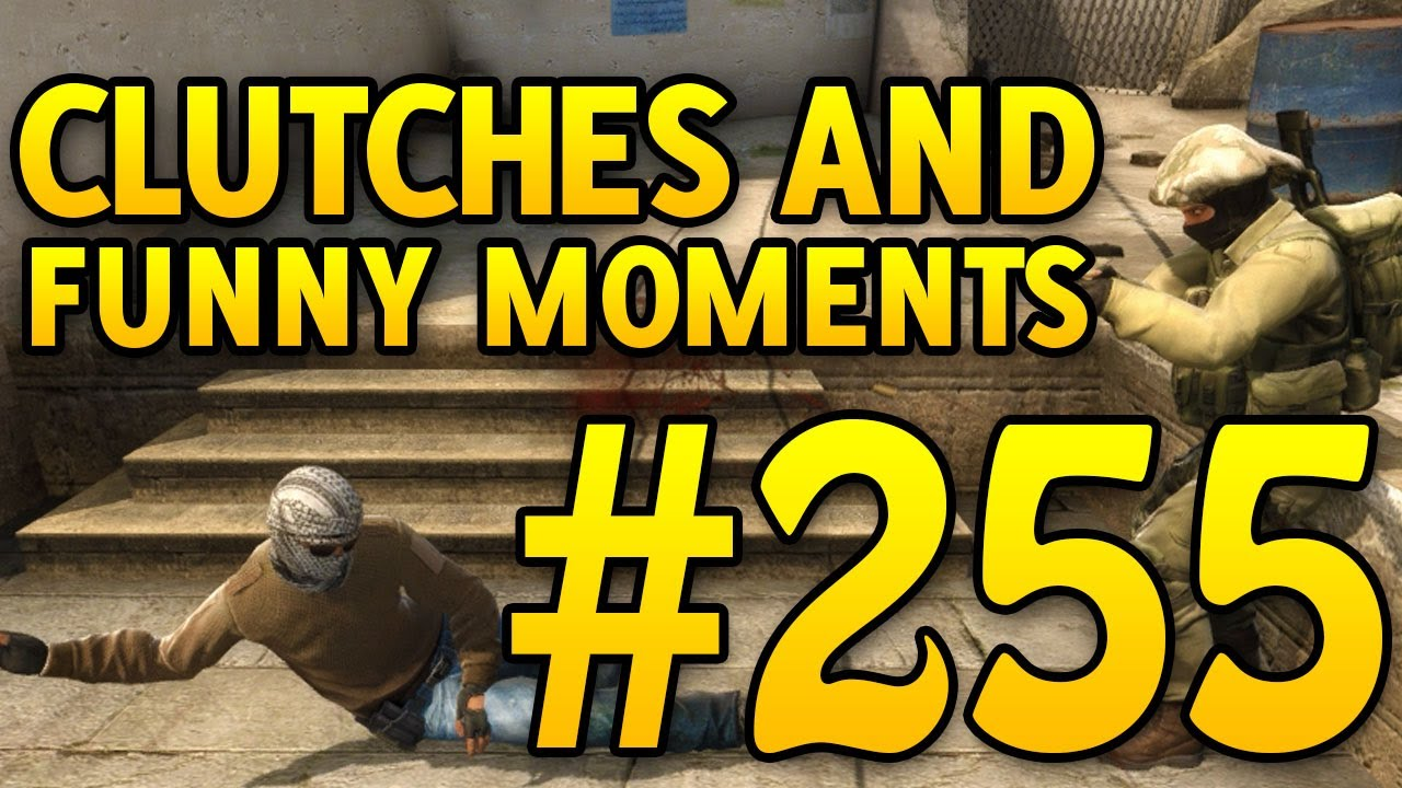 CSGO Funny Moments and Clutches # 255 - CAFM + vidéo