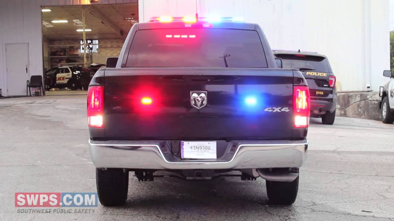 2016 ram truck special service edition with police lights 2016 ram truck special service edition with police lightsequipment swps bc16ram youtube sciox Images
