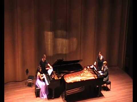 The Scholtes-Janssens Pianoduo plays John Adams - Hallelujah Junction (ending)