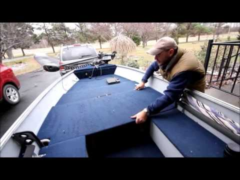How To Upgrade Your Aluminum Boat To A Fishing Machine Youtube