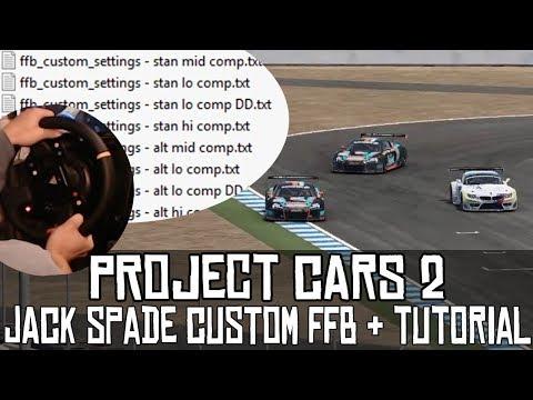 Project CARS 2 || Un force feedback bestial: Jack Spade Custom FFB (+ tutorial)