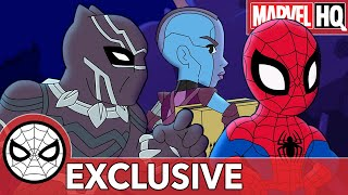 Spidey Nabs Nebula Marvel Super Hero Adventures Sorry Seems To Be The Hardest Word SHORT