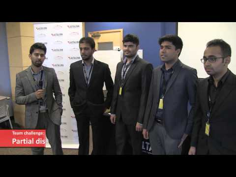 University of Calgary engineering students present final design projects to AltaLink