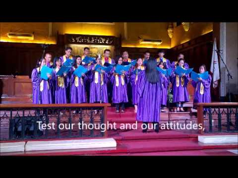 Speak, O Lord - Words and Music by Keith Getty & Stuart Townend