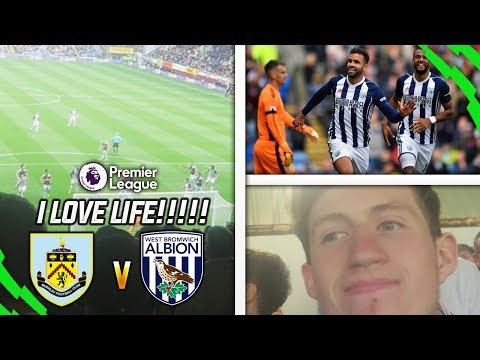 I LOVE LIFE SO MUCH!! - BURNLEY 0-1 WEST BROM HOME VLOG!!