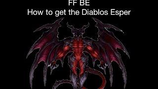 FFBE - How to get the Diablos Esper