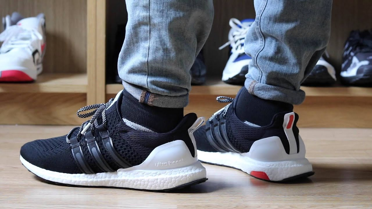 6bd5a8104 Closer Look  wOOd wOOd x Adidas Ultra Boost - YouTube