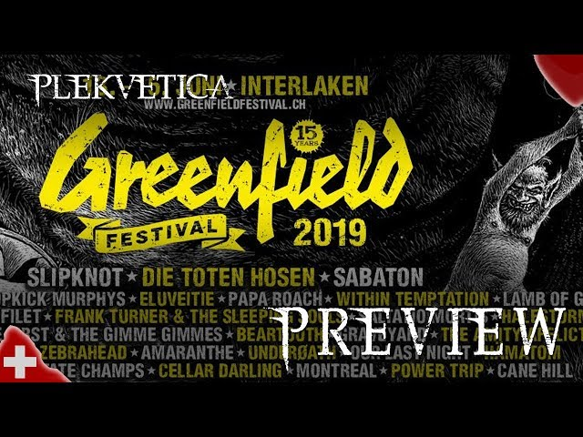 [Preview] Alle Bands am Greenfield 2019