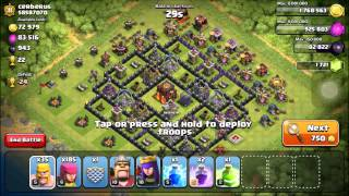 Clash of Clans- Hangin out in Notorious Nine+Attack On A Max Base!