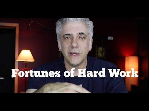 Fortunes of Hard Work: Why You Should Never Give Up