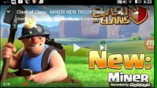 Clash of clans nuovo truppa il minatore