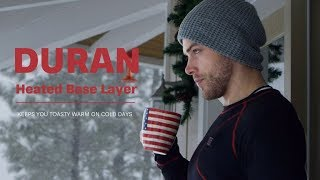 Now on Kickstarter: DURAN | The Most Slim Cozy Heated Base Layer