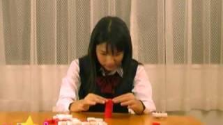中学生アイドル、美咲あいちゃんが1分間でいろいろなことにチャレンジ...