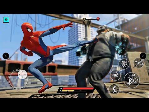 蜘蛛人 : 如何快速升級技能,得看一堆超智障的廣告! - Spider Hero : SuperHero Fighting #2 |