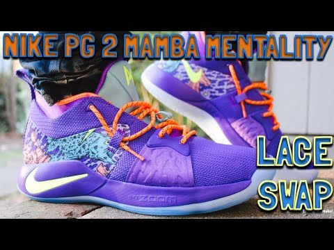 LACE SWAP NIKE PG 2 MAMBA UomoTALITY FUELED BY DMG LACES