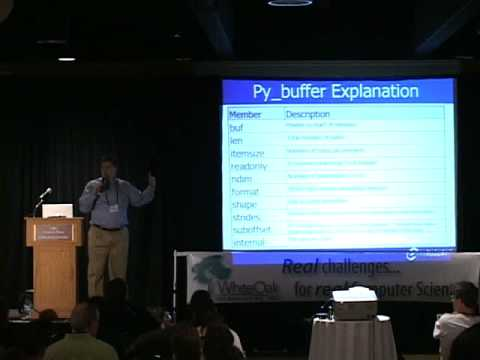 Buffer interface in Py3K