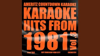 Burn Rubber on Me (In the Style of Gap Band) (Karaoke Version)
