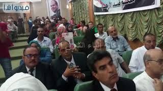 بالفيديو: علاء أبو زيد محافظ مطروح يكرم أوائل الثانوية العامة بالمحافظة