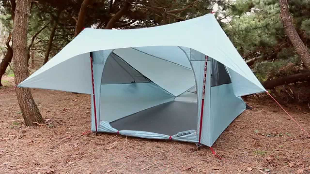 & MSR Tents: FlyLite Tent Setup - YouTube