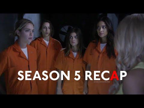 Pretty Little Liars - Season 5 Recap
