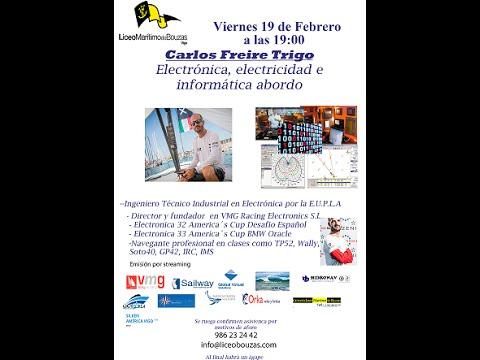 Electricidad, electrónica e informática abordo, Carlos Freire Trigo.