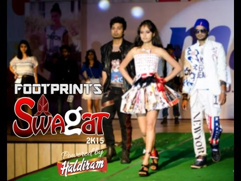 Swagat 2015 | Footprints - Fashion Show | NIT Allahabad